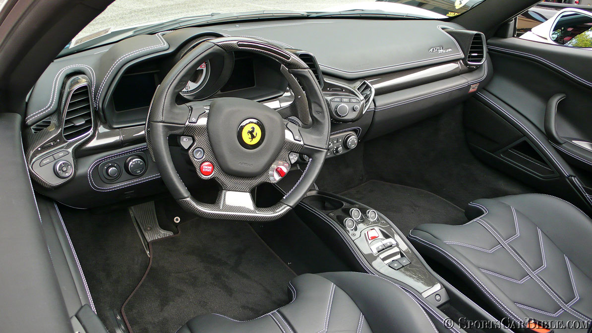 Ferrari 458 Interior Photos Home Plan